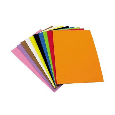 Käsitöö vahtkumm, A4, assortiivärvid 10 lehte