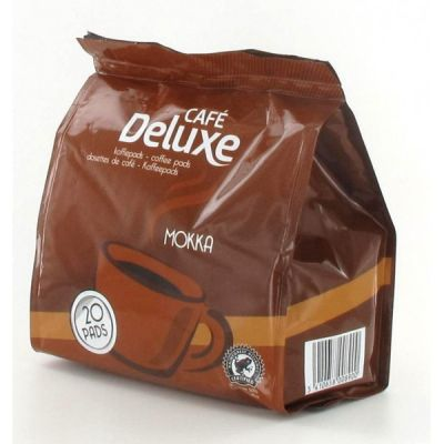 Kohvipadjad Cafe Deluxe Mokka 20x7g (Philips Senseo masinatele)