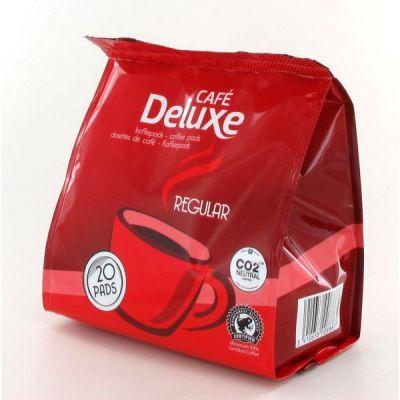 Kohvipadjad Cafe Deluxe Regular 20x7g (Philips Senseo masinatele)