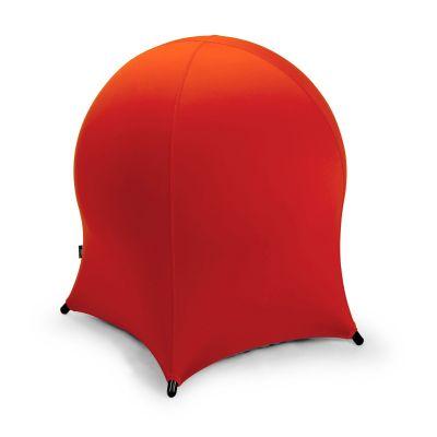 Palltool JELLYFISH 30102 punane, 55x55xH-63cm täispuhutav kummipall metallraamil/ max 120kg