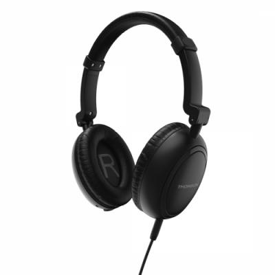 Kõrvaklapid+mikrofon Hama/Thomson On-Ear Headphones Active Noise Cancelling - aktiivse mürasummutusega, kokkuklapitav, 4-pin 3.5mm pistik
