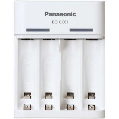 Akulaadija Panasonic eneloop laadija BQ-CC61USB - laetav USB-pesa kaudu 2x 4x AA/AAA NiMH kuni 10h