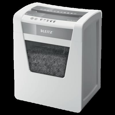 Paberipurustaja Leitz IQ Office - P4(400tk - 4x40mm) 15lehte 120min 23L(225lehte) AntiJam