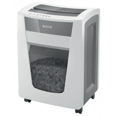 Paberipurustaja Leitz IQ Office Pro - P6plus(12000tk - 1x5mm) 5lehte 240min 30L(kuni 390lehte) AntiJam