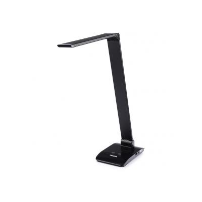 Valgusti TIROSS TS-1810 must, 48 LED puutetundlik, 7W, 450L, USB port