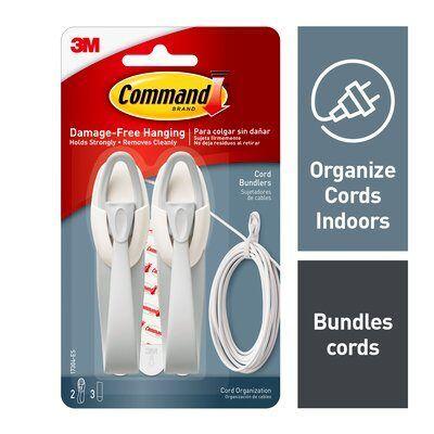 Kaabliriputuskonks Command 17304 kaabliriputuskonks,hoiab kuni 1kg (pakis 2 tk)
