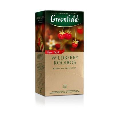 Punane tee Greenfield Wildberry Rooibos 1,5g*25 tk/pk