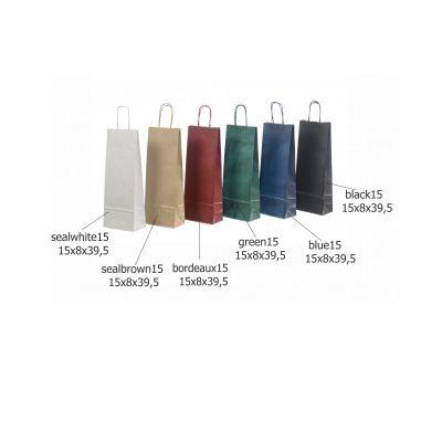 Kinkekott nöörsangadega 15x8x39,5 (vein) must