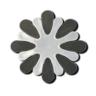 Helkur Lill (Gloroful Flower Grey) 88x88mm