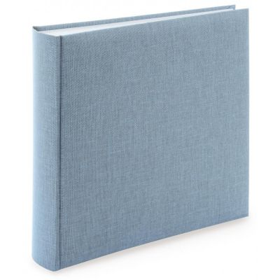 Fotoalbum klassikalise lehega Summertime,helesinine,34x35cm,50 valget lehte vahelehtetega, G32.607