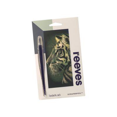 Kraapeplaat Reeves 18x11cm Gold Tiger