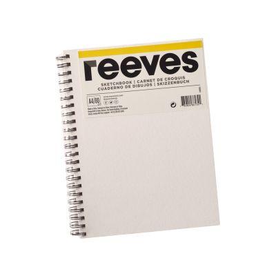 Eskiisiplokk Reeves lõuendiga kaaned A4 120g 80lehte