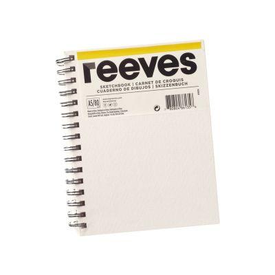 Eskiisiplokk Reeves lõuendiga kaaned A5 120g 80lehte
