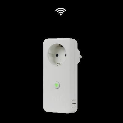 WiFi seinapesa kütteseadmetele Mill Socket with MillHeat App, white (valge), max 2300W