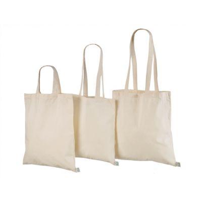 Orgaanilisest puuvillasest riidest kott40x40cm naturaalne 140g/m3
