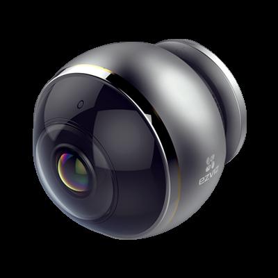 Valvekaamera Hikvision EZVIZ Mini Pano CV346 panoraamkaamera sisetingimustesse FullHD+ 1344x1344pix 25fpm 3MP