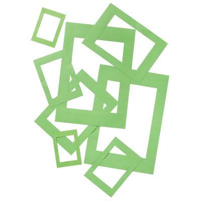 Kartongraam roheline 50tk pakis, 180g, A3, A4, A5, A6 ja A7