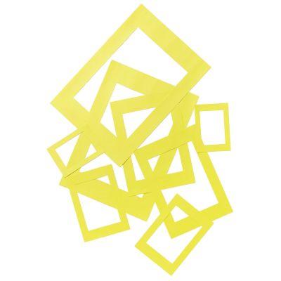 Kartongraam kollane 50tk pakis, 180g, A3, A4, A5, A6 ja A7