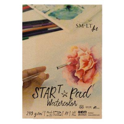 Akvarelliplokk A4 240gsm 20lehte  Start SMLT