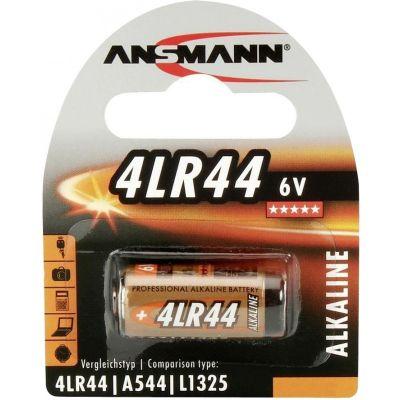 Patarei Ansmann 4LR44 6V alkaline h25.2mm d13mm A544/L1325/476A