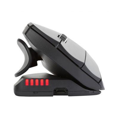 Hiir Contour Unimouse Wireless juhtmevaba Left/vasakukäeliste ergonoomiline vertikaalhiir, muudetava kaldenurgaga, muudetav pöidla asend