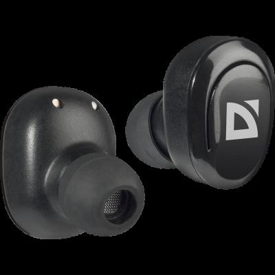 Kõrvaklapid+mikrofon Defender Twins635 juhtmevabad Bluetooth koos juhtmevaba laadimiskarbiga