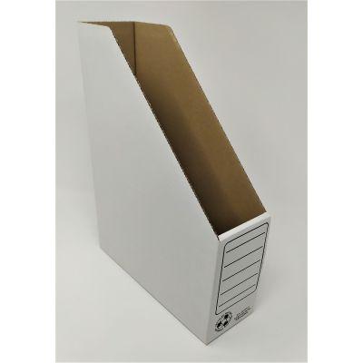 Dokumendikast A4, 330x250x80mm kartong valge SMLT