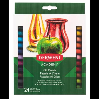 Derwent Academy Oil Pastels (24 Pack)