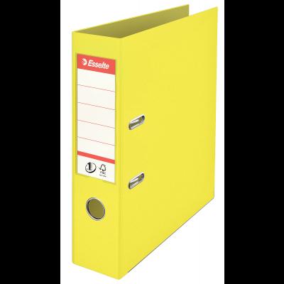 Registraator A4 75mm Ice.kollane Esselte No.1 Power PP ColourIce