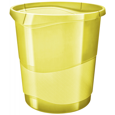 Paberikorv 14 liitrit 258x322x285 läb.kollane  Esselte ColourIce