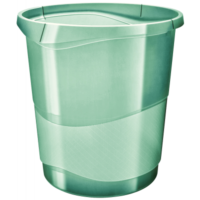 Paberikorv 14 liitrit 258x322x285 läb.roheline Esselte ColourIce