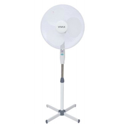 Ventilaator põrandale 40cm - 3 kiirust, pöörlev, 50W, 45dB