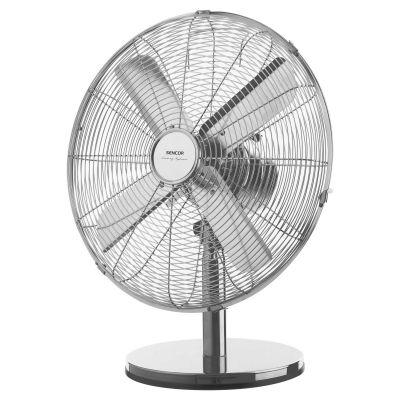Ventilaator lauale 40cm, 3 kiirust, 90-kraadi pöörlev, 50W, muudetav kaldenurk, roostevaba teras, Sencor SFE-4040SL