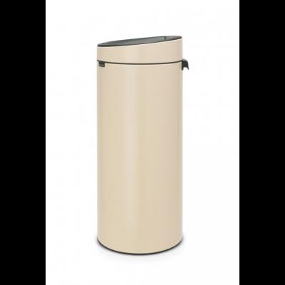 Prügikast 30L, Brabantia, Touch bin-puutele avanev, K-72cm/ Almond, mandel