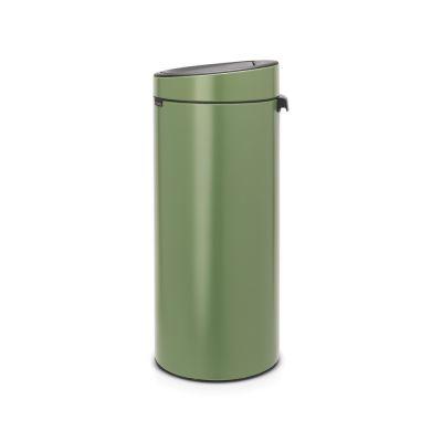 Prügikast 30L, Brabantia, Touch bin-puutele avanev, K-72cm/ Moss Green, roheline