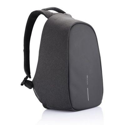 Sülearvuti seljakott Bobby Pro Black (must) anti-theft backpack, USB, RFID protected, 18L, 1.2kg, RPET