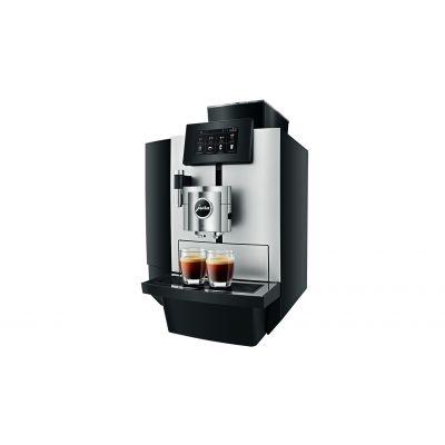 Espressomasin Jura X10 Platinum; Oakont.1000gr, Veepaak 5L, kohvipaksusahtel 40p. (kuni 80 kohvi päevas)