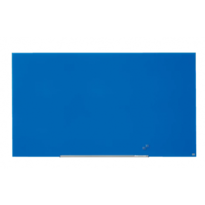 """Klaastahvel NOBO Diamond Magnetic Widescreen Glass Blue 85"""" 1900x1000mm sinine, kaasas marker, 2 klaastahvlimagnetit"""