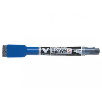 Tahvlimarker  Pilot MasterSmall EF 1,3-3,5mm ümar ots,kustutajaga-magnetiga, sinine