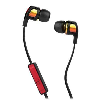 Kõrvaklapid+mikrofon Skullcandy SMOKIN BUDS 2 Orange Iridium 9mm 20Hz-20kHz 32ohm 95dB(1mW 500Hz), mikrofon kaablil, 4-pin 3.5mm