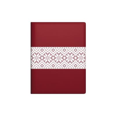 Raamatkalender MINISTER Trend Päev Red Star , A5 spiraalköide, surutrükkpilt kunstnahast kaanel