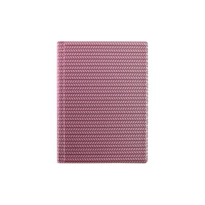Raamatkalender Minister PVC Nädal V metallik roosa, A5, spiraalköide, PVC kaantega, nädala sisu
