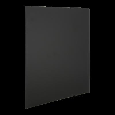 Seinatahvlite komplekt must SECURIT XXL Ruudukujuline, K-40x40x0,2cm, 6 tk+kinnitused/ ilma raamita, kompl.