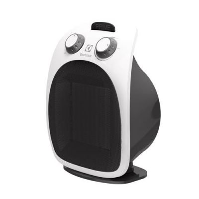 Soojapuhur Electrolux EFHC-5125N 2000W valge esipaneel, must korpus, reguleeritav kiirus ja termostaat
