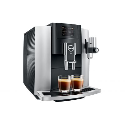 Espressomasin Jura E8 Platin (2019 Touchscreen) puutetundlik ekraan ja tehisintellekt