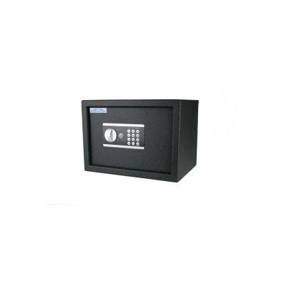 Seif/turvakapp Protector Domestic DS-2535-E, elektr. koodlukk+võtmelukk, patareid kaasas/ must ( 250E asendus )