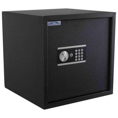 Seif/turvakapp Protector Domestic DS-4040-E, elektr. koodlukk+võtmelukk, patareid kaasas/ must ( 350E/380E asendus )
