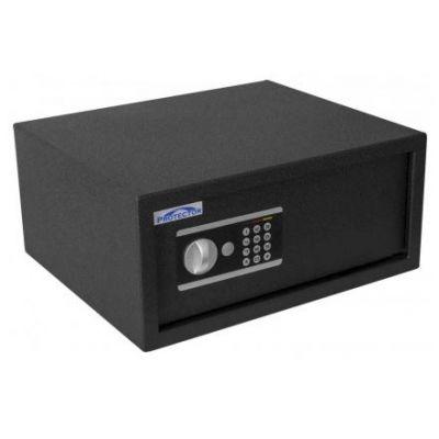 Seif/turvakapp Protector Domestic Laptop DS-2044-E, elektr. koodlukk+võtmelukk, patareid kaasas/ must ( asendab 260 LT )