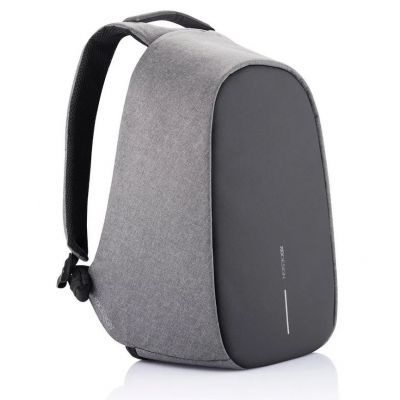 Sülearvuti seljakott Bobby Pro Grey (hall) anti-theft backpack, USB, RFID protected, 18L, 1.2kg, RPET