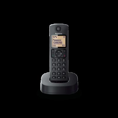 Telefon Panasonic KX-TGC310FXB tume,  DECT, numbrinäit